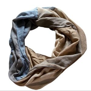H&M Color Block Infinity Scarf